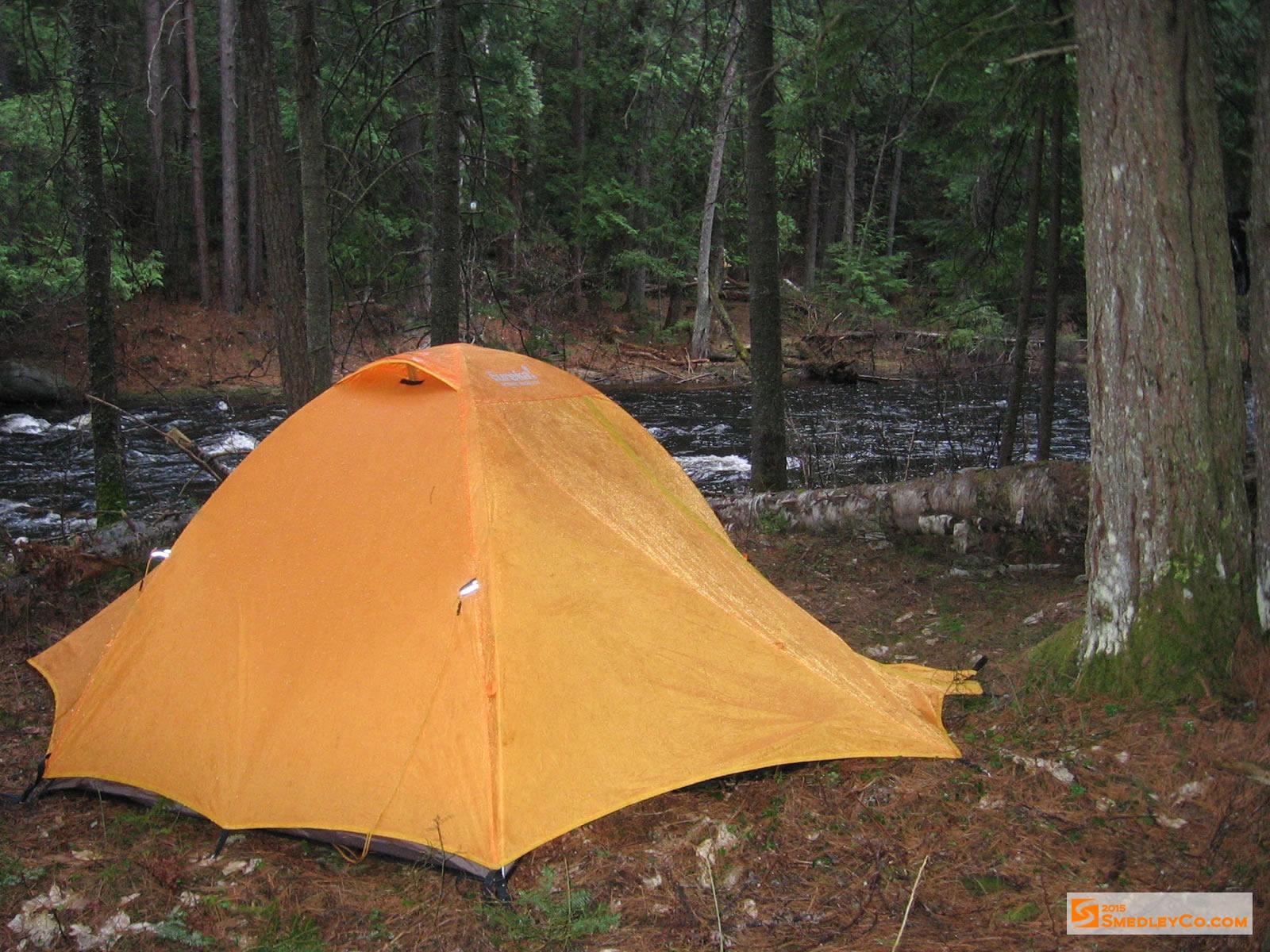 Riverside tent site. & Trip Log 029 - Bonnechere River :: SmedleyCo.com