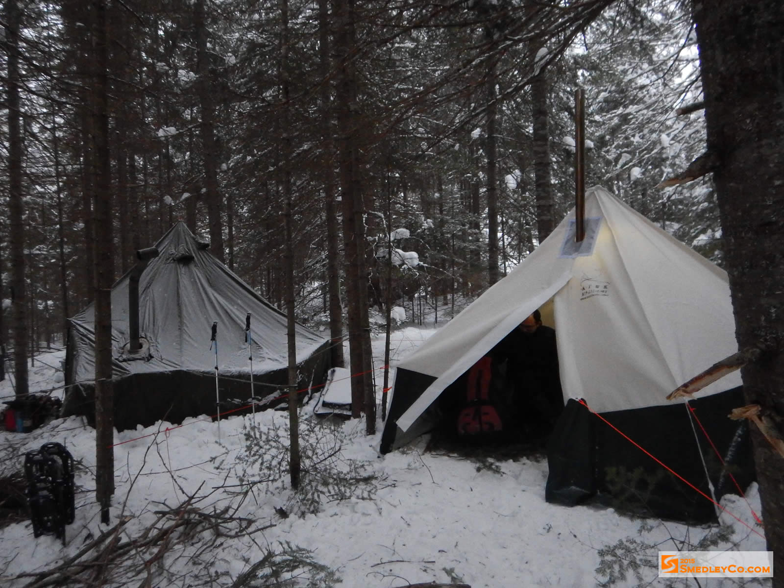 Winter Camping Tents : Trip log winter camping smedleyco